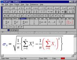 Math Type V6.0