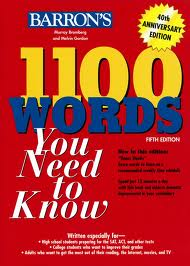 Barron 1100 Words You Need To Know 4th Edition