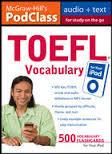 PodClass TOEFL Vocabulary For Study on the Go (Book+Audio)