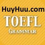 Full Grammar Toefl