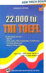 22000 Words for Toefl Harold Levine