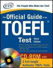 Official Guide To The TOEFL Test 3 Edition