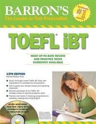 Barron TOEFL iBT 2012 13th edition CD ROM