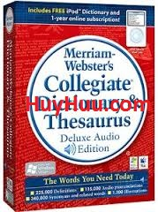 Merriam - Webster  Collegiate Dictionary and Thesaurus