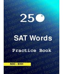 SAT 250 Words Practice Book