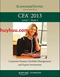 CFA Kaplan 2013- Level1 Book4