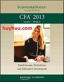 CFA Kaplan 2013- Level1 Book5