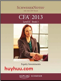 CFA Kaplan 2013- Level2 Book3