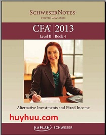 CFA Kaplan 2013- Level2 Book4