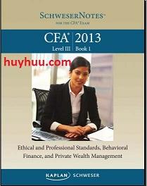 CFA Kaplan 2013- Level3 Book1
