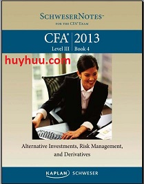 CFA Kaplan 2013- Level3 Book4