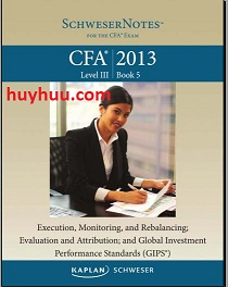 CFA Kaplan 2013- Level3 Book5