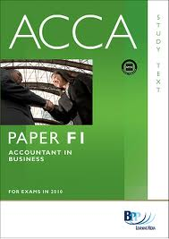 ACCA F1 Textbook-Accountant In Business