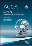 ACCA F2 Textbook-Management Accounting