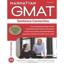 Manhattan Sentence Correction GMAT