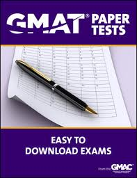 GMAT Paper Tests - Set I
