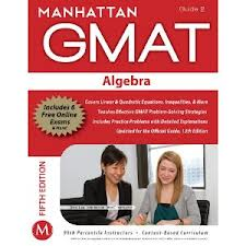 Manhattan Algebra GMAT Strategy Guide