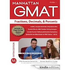 Manhattan Fractions Decimals And Percents GMAT