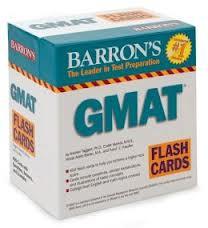 Barron GMAT Flash Cards