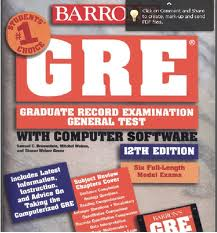 Barron How to Prepare for the GRE 12th Edition