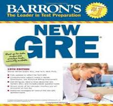 Barron How to Prepare for the GRE 19th Edition