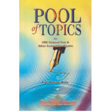 GRE The Pool of Issue Topics
