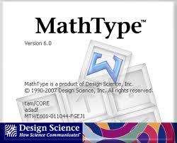 Mathtype Tutorial