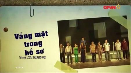 [Play]Vang Mat Trong Ho So-Luu Quang Vu
