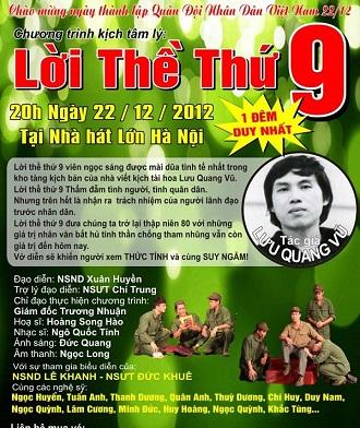 [Play]Loi The Thu Chin-Luu Quang Vu