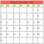 Calendar Online