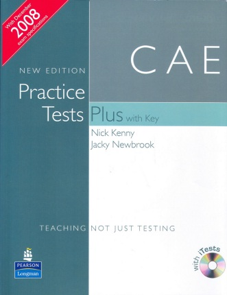 CAE New Edition Practice Tests Plus With Key (Ebook+Audio)