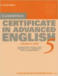 Cambridge First Certificate in Advanced English 5 Teacher Book