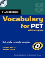 Cambridge Vocabulary for PET (with answers)