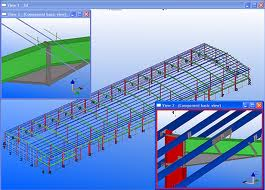 Tekla Steel Structure