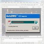 Convert pdf to dwg