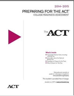 Preparing For The ACT 2014-2015