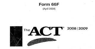 The ACT Official Guide Practice Test 4