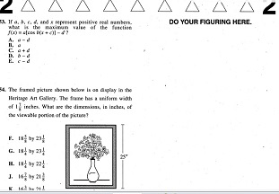 Real ACT Tests 2002 January Form 59C