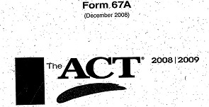 act 67a answers