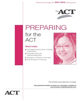 Preparing For The ACT 2011-2012