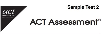 ACT Sample Practice Test 2