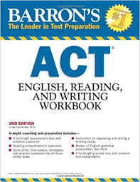 Barrons ACT English Reading and Writing Workbook 2nd Edition