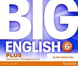 Big English Plus 6 Class Audio CDs