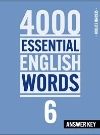 4000 Essential English Words 6 Second Edition Answer Key