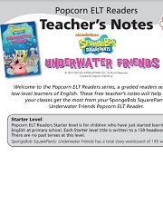 Underwater Friends Teachers Notes