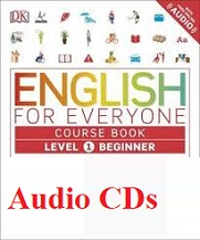 English for Everyone Level 1 Beginner Course Book Audio CDs