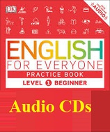 English for Everyone Level 1 Beginner Practice Book Audio CDs