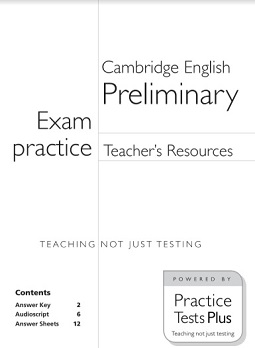 Focus Exam Practice Preliminary Teachers Resources With Keys and Scripts