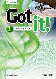 Got It 1 Teacher Book 2nd Edition