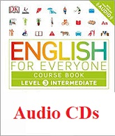 English for Everyone Level 3 Intermediate Course Book Audio CDs
